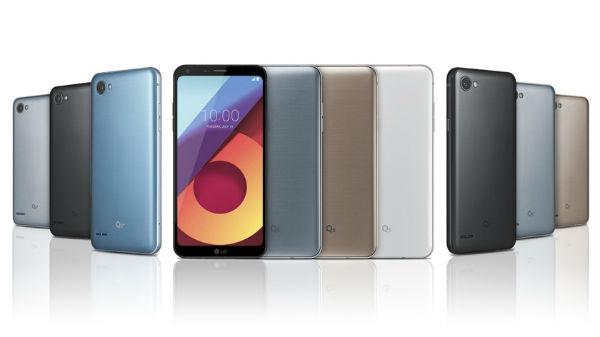 LG Q6, Q6+ y Q6a, características y precios