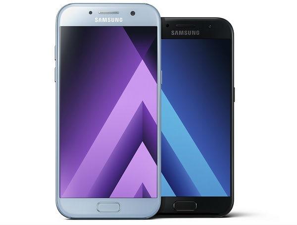 Los Samsung™ Galaxy™ A de 2018 contarán con monitor infinita