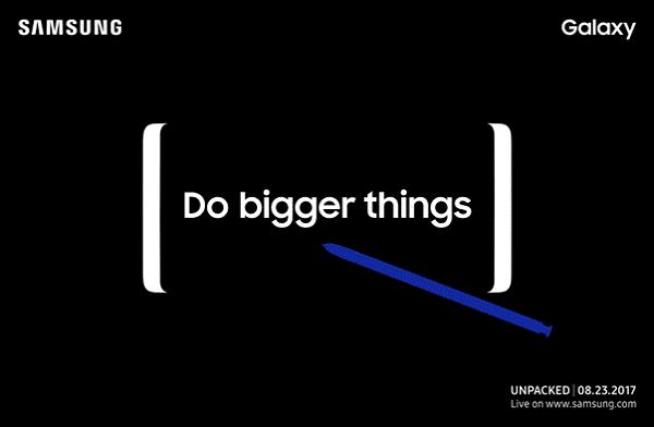 El Samsung Galaxy Note 8 se presentará oficialmente en agosto