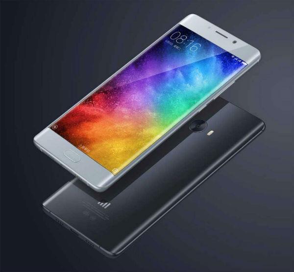 Xiaomi Mi Note 2, reciente teléfono con seis GB(Gigabyte) de RAM