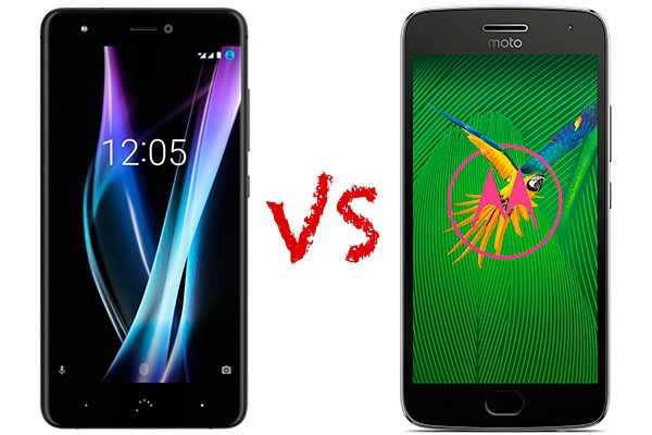 Comparativa BQ Aquaris X Pro vs Motorola Moto G5 Plus