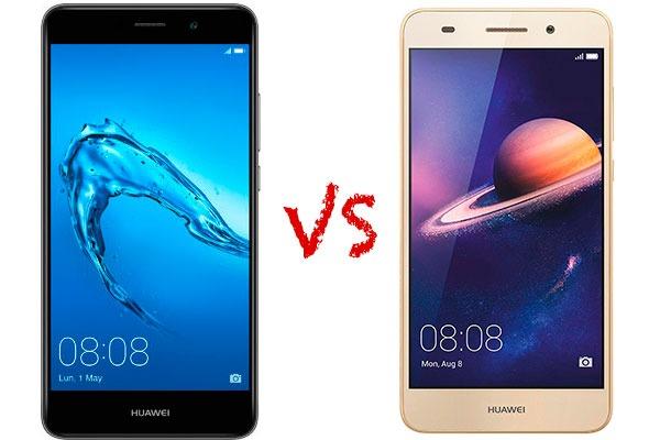 Comparativa características y costo de Huawei™ Y7 vs Huawei™ Y6 II