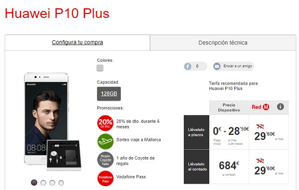 Huawei P10 Plus vodafone