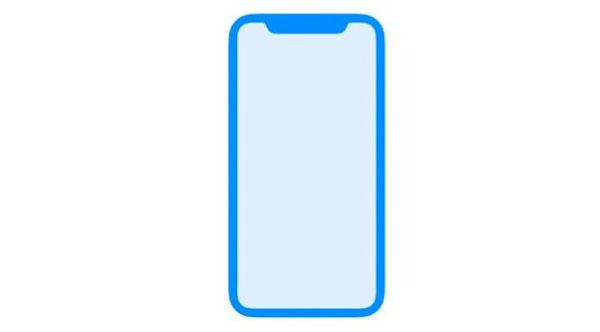 Imagen de la filtración del iPhone 8 por la propia Apple