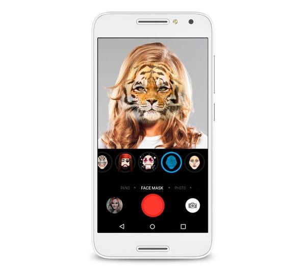 caracteristicas clave Alcatel℗ U5 4G selfies