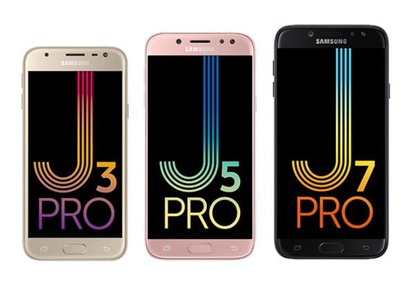 Samsung Galaxy J3, J5 y J7 Pro, características y precio