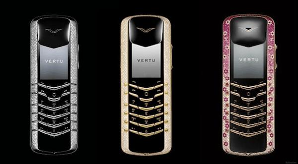 Vertu, la compañía de móviles de lujo de 40.000 euros(EUR) colapsa