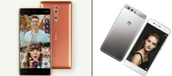 Comparativa Nokia 8 VS Huawei P10