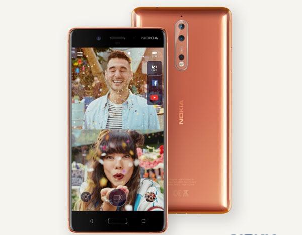 Nokia 8, ficha técnica completa y fotos
