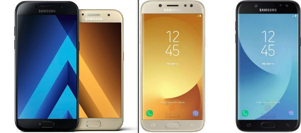 Samsung Galaxy A5 2017 o Galaxy J5 2017, ¿cuál me compro?
