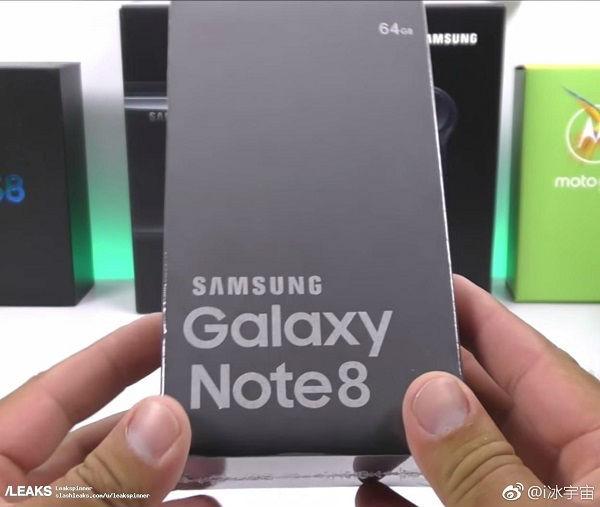 Se filtra una imagen de prensa del Samsung Galaxy Note 8 en su nuevo color azul profundo