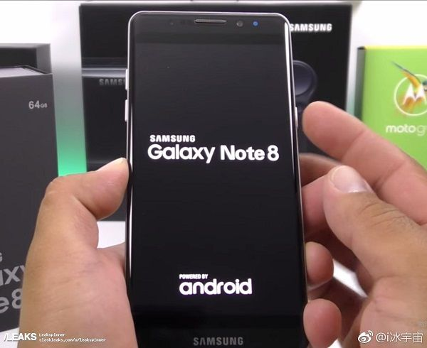 samsung galaxy note 8 cámara