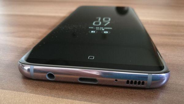 Samsung GAlaxy S8 Plus conexiones