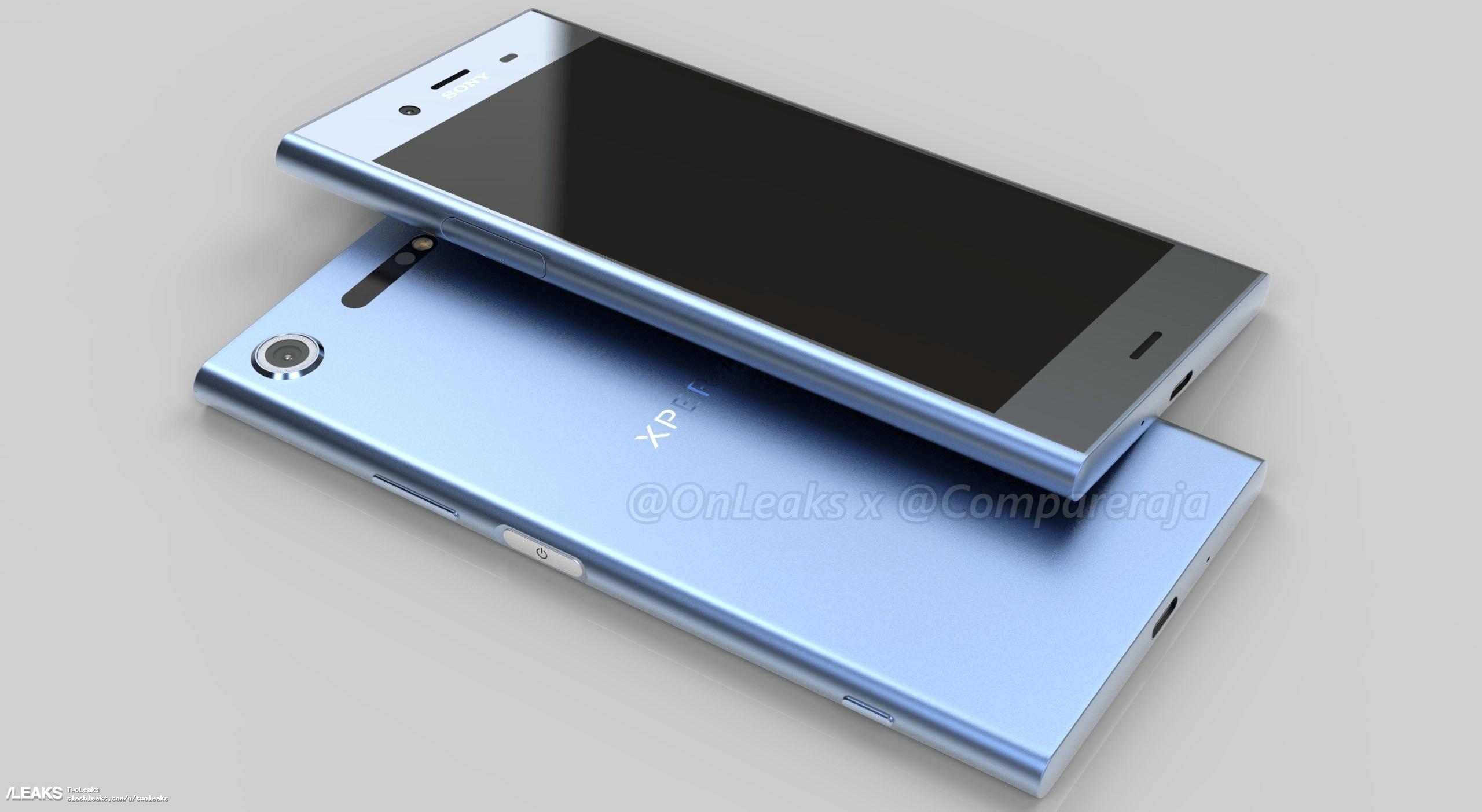 Aparecen imágenes de prensa del Sony™ Xperia™ XZ1