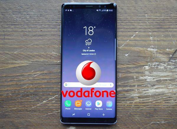 Tarifas y costo del Samsung™ Galaxy™ Note ocho con Vodafone