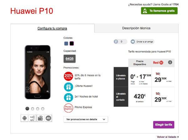 Huawei P10 Vodafone