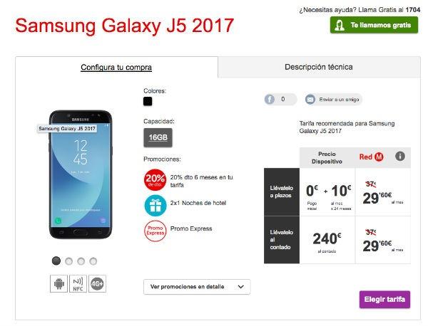 Samsung Galaxy℗ J5 2017 Vodafone