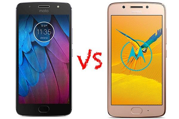 Comparativa Motorola℗ Moto G5S vs Moto G5