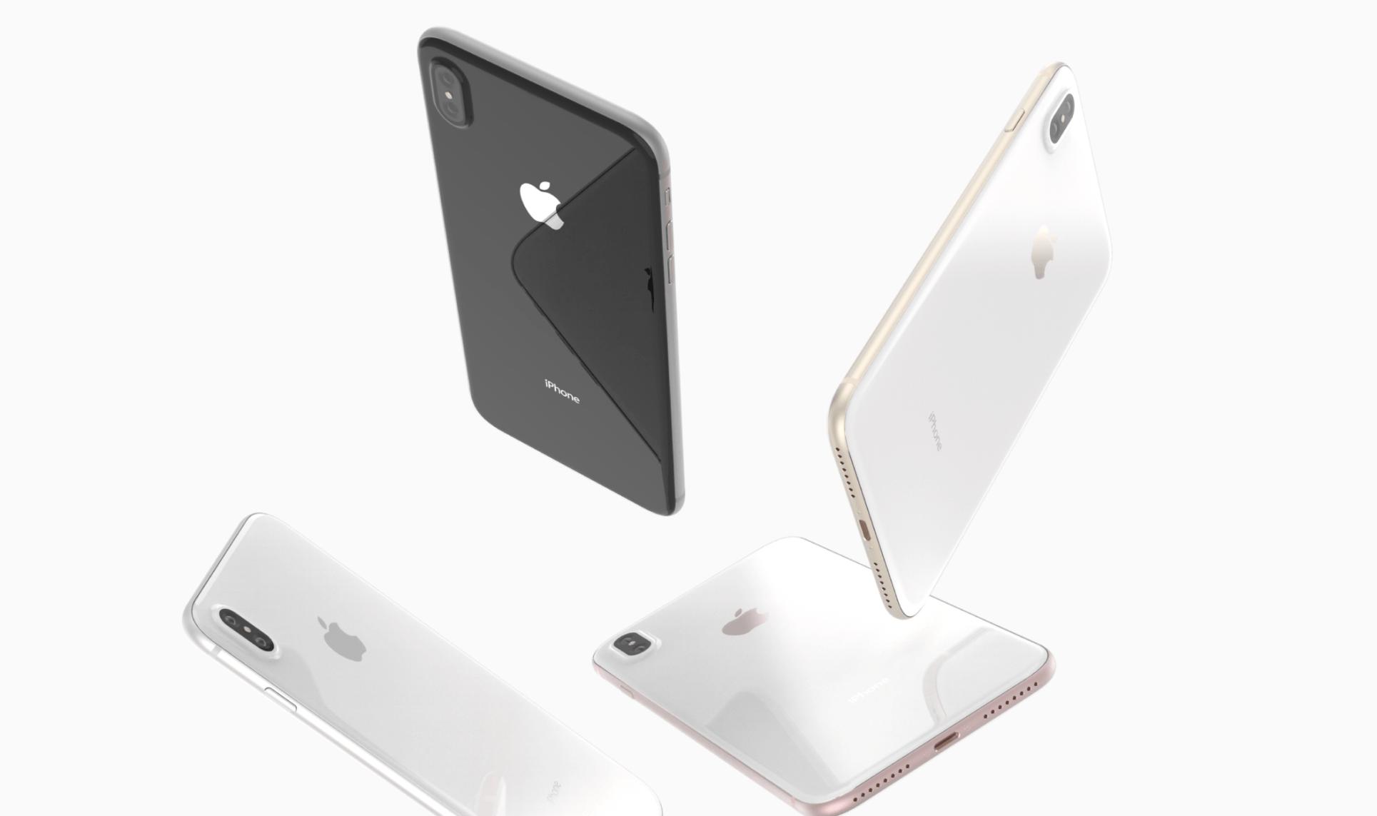 iPhone 8 trasera