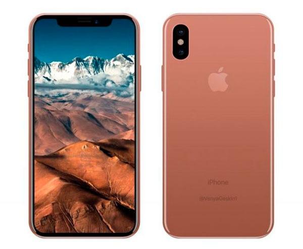 posible fecha de presentación del iPhone ocho reciente color