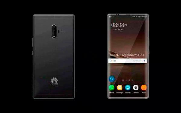 El Huawei™ Mate diez poseera alguna versión Pro con monitor sin marcos