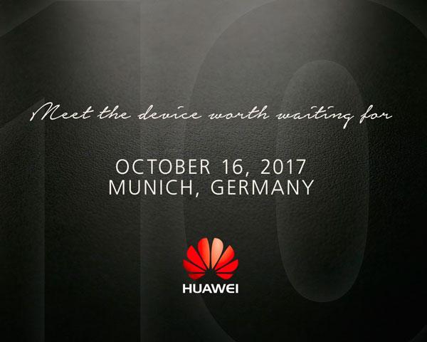 Huawei presenta alguna imagen cierta del Huawei™ Mate 10