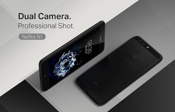 TP-LINK Neffos N1, teléfono fino, de 5,5 pulgadas y cámara dual
