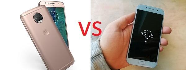 Comparativa Motorola Moto G5s Plus VS Samsung Galaxy A5 2017