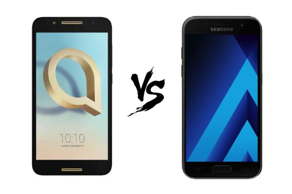 Comparativa Samsung℗ Galaxy℗ A3 2017 vs Alcatel℗ A7