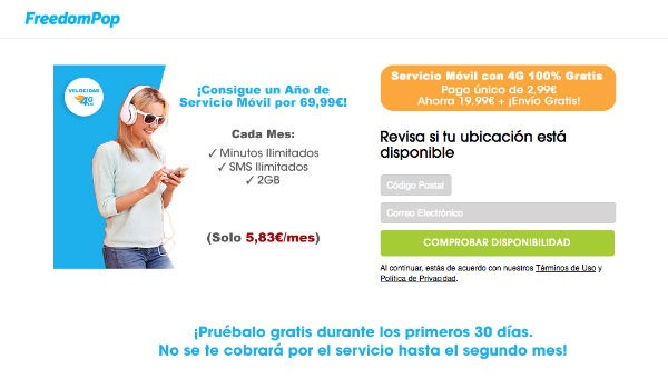 FreedomPop plan anual
