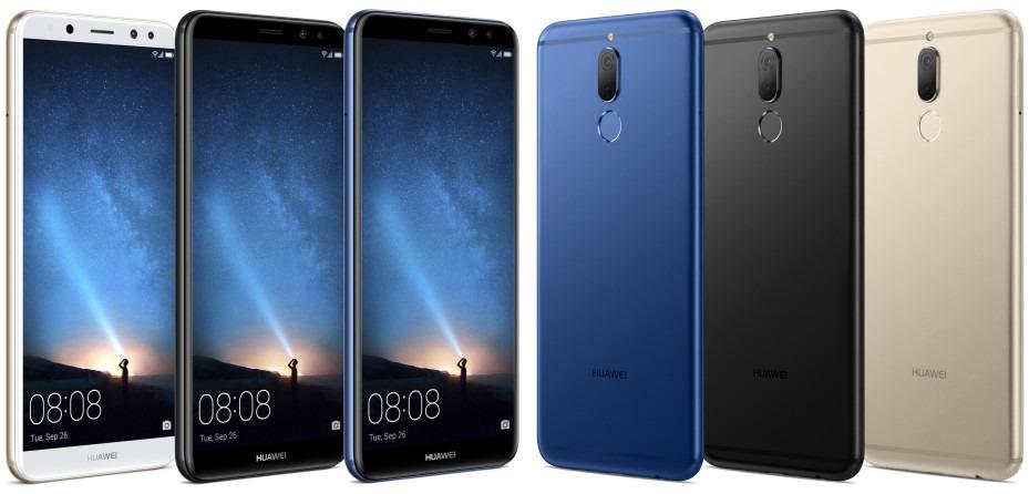 El Huawei™ Mate diez Lite aparece filtrado en alguna imagen de prensa