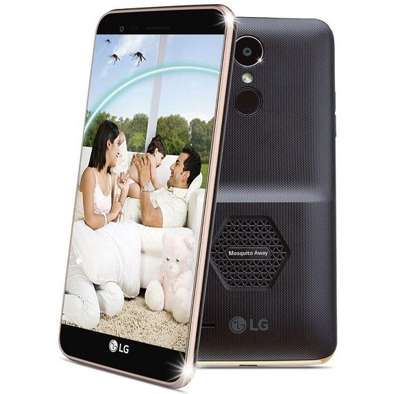 El reciente teléfono de LG cuenta con un repelente de mosquitos