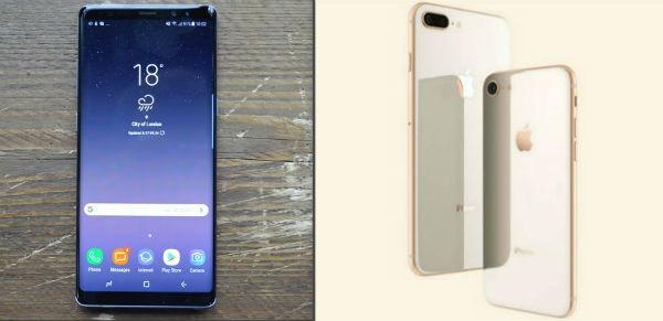Samsung Galaxy Note 8 o iPhone 8 Plus, ¿cuál comprar?