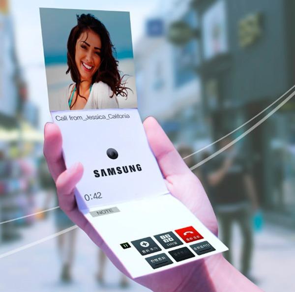 El esperado Samsung flexible llegará a las tiendas el próximo año