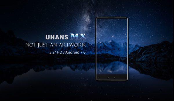 UHANS MX, móvil con pantalla infinita por menos de 100 euros