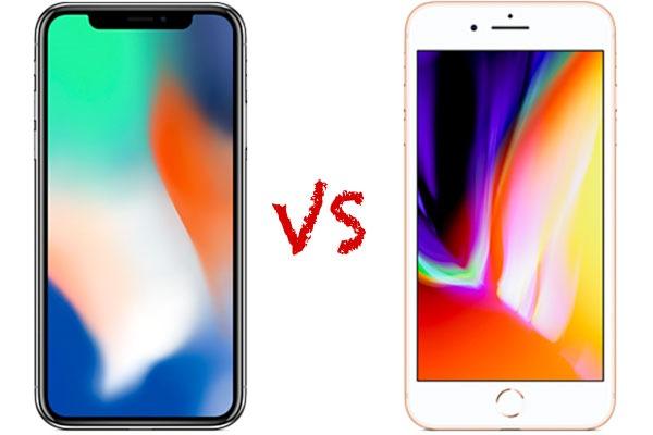 Comparativa iPhone X vs iPhone 8 Plus