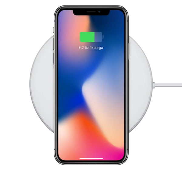 comparativa iPhone X vs iPhone 8 Plus carga inalámbrica
