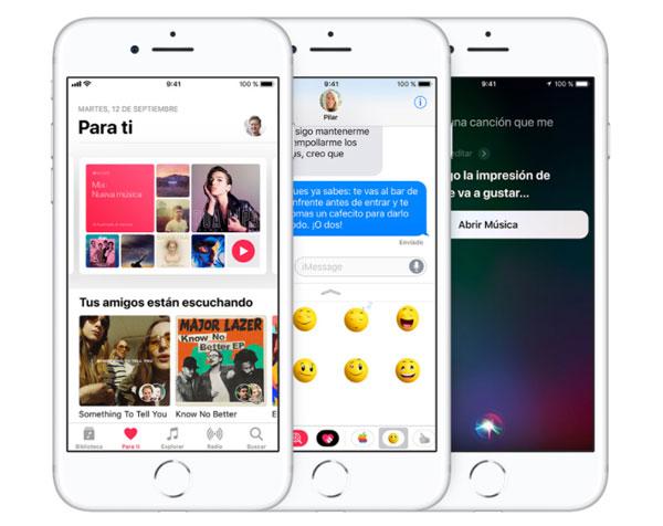 iPhone 8 Plus pantalla