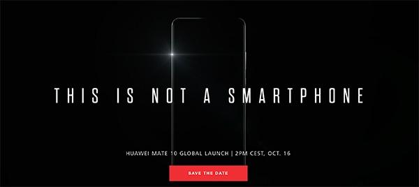 Cómo seguir la presentación del Huawei Mate 10 en directo
