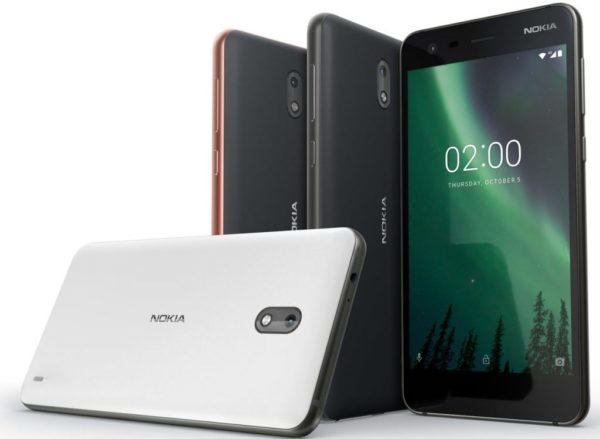 5 características claves del Nokia™ 2