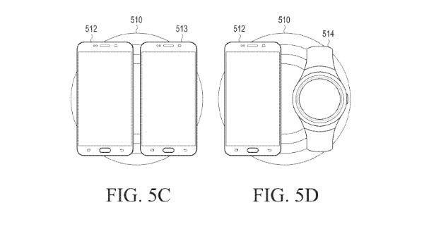 Samsung carga inalámbrica