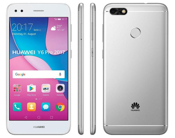 claves Huawei™ Y6 Pro 2017 parte trasera