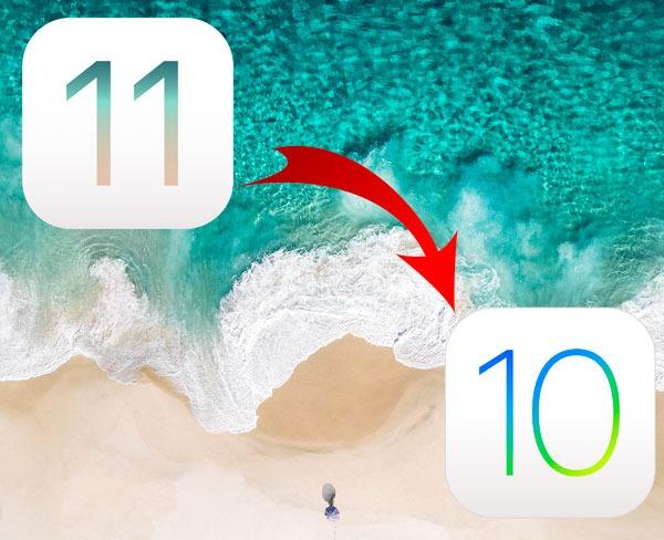 Cómo volver a iOS 10 si iOS 11 no te funciona bien
