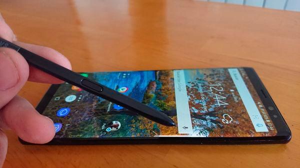 Comparativa Samsung Galaxy Note 8 vs Huawei Mate 10 Pro pantalla Note 8
