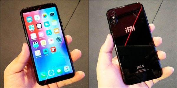iMI X, un teléfono nacido de mezclar el iPhone X con el Xiaomi Mi 6