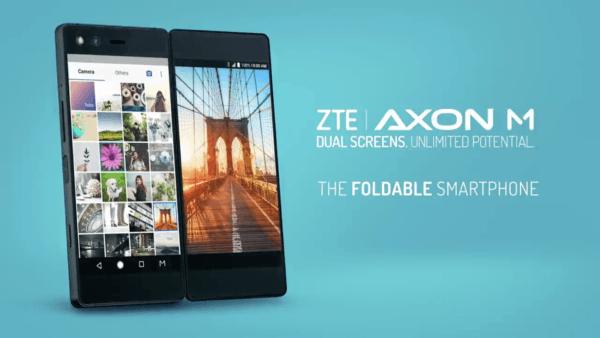 ZTE Axon M, el teléfono plegable con dos pantallas y cámara de veinte megapíxeles