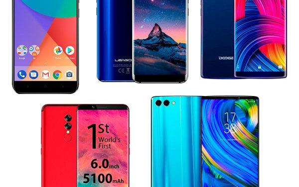 5 móviles chinos por debajo de 300 euros con cámara doble