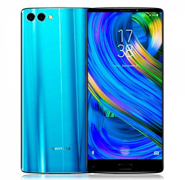 5 móviles chinos por debajo de 300 euros con cámara doble homtom s9 plus
