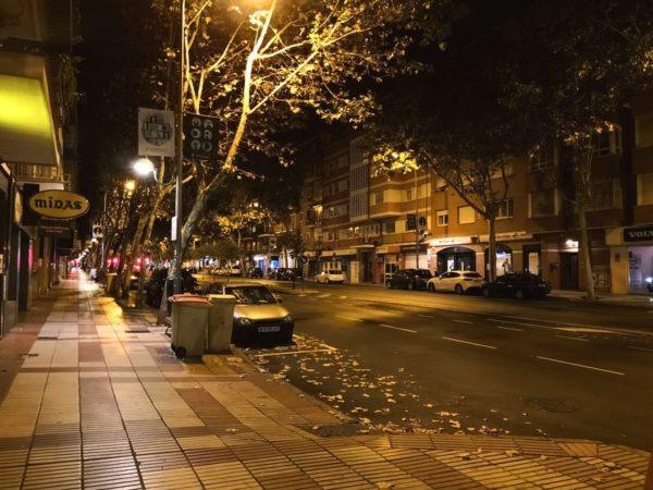 huawei mate diez fotografía nocturna