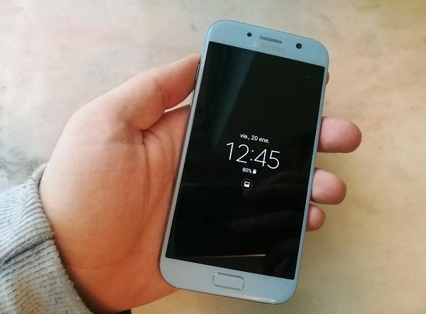 El Samsung Galaxy A5 2018 aparece en la web de Samsung